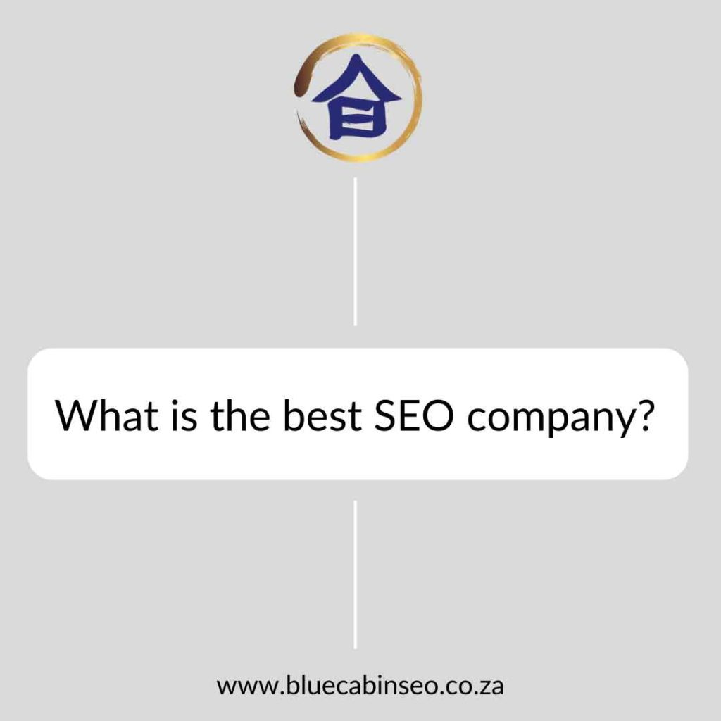 What is the best SEO company?