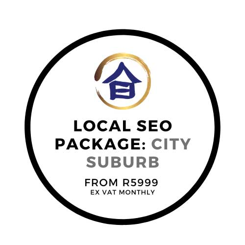 local seo packages sandton randburg