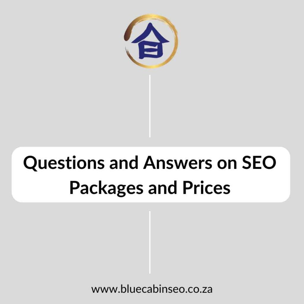 FAQ questions and answers on SEO packages and how to grow your business