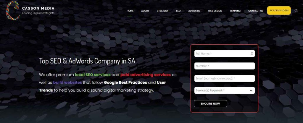 top seo company south africa
