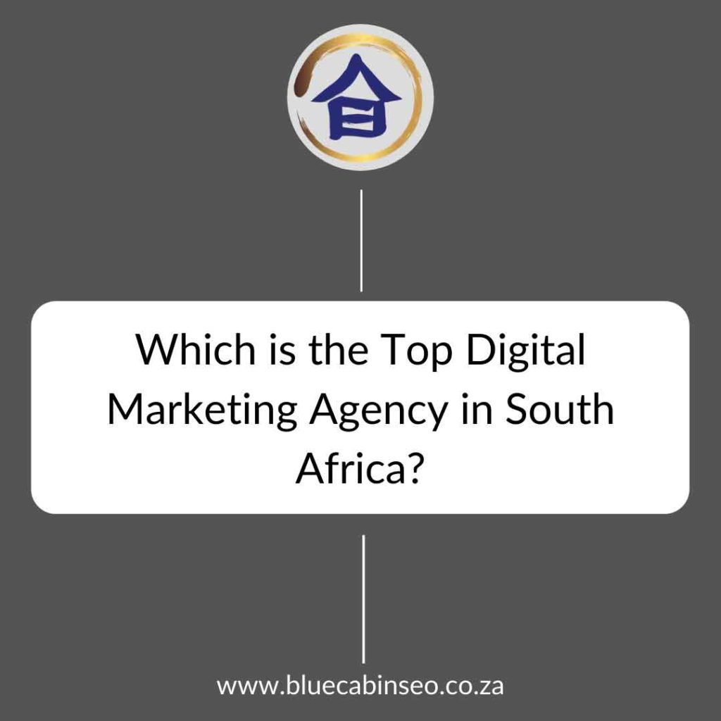 Which is the top digital marketing agency in south africa