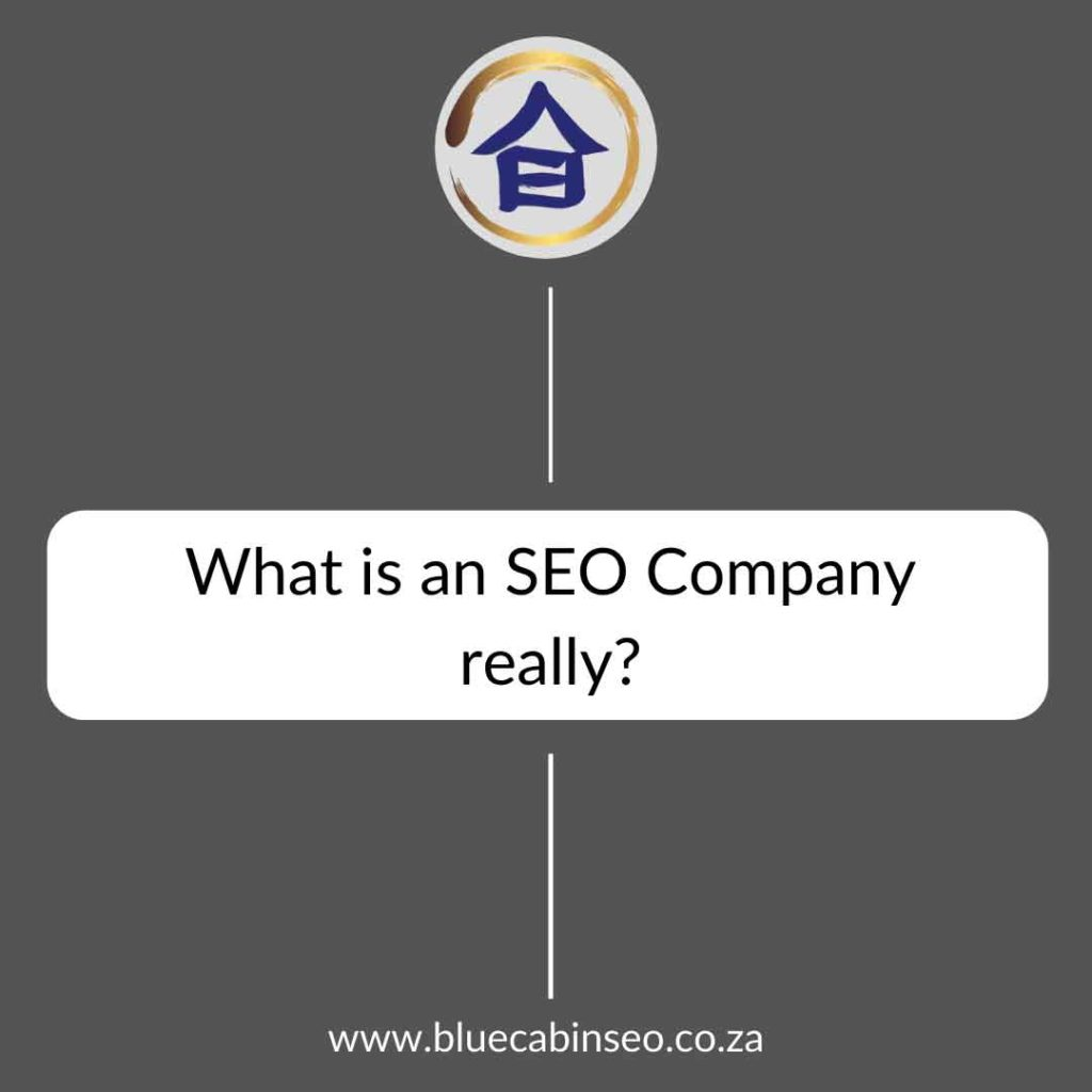 what is an seo company really
