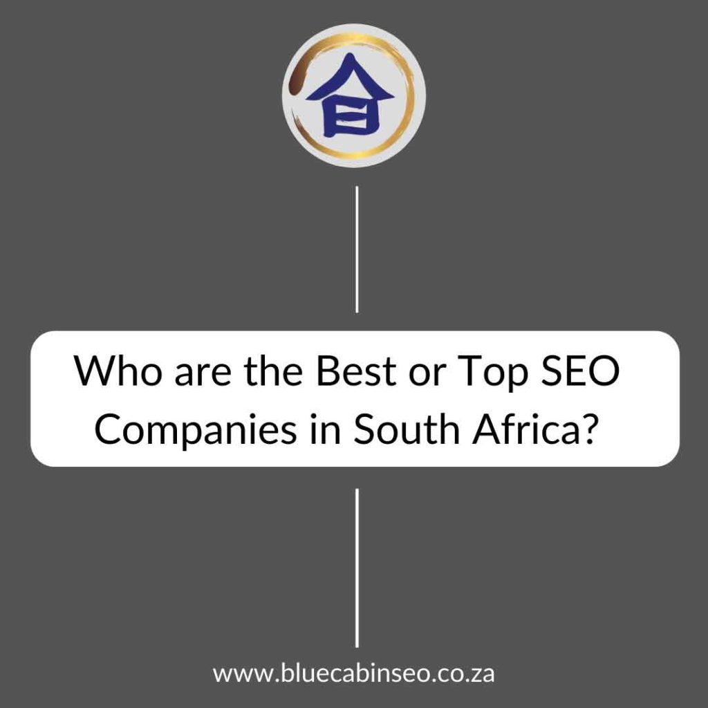 who are the best or top seo companies in south africa